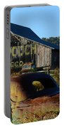 Mail Pouch Barn And Old Cars Portable Battery Charger