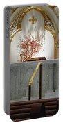 Main Altar Saint Jospehs Cathedral Buffalo New York Portable Battery Charger