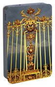 Main Golden Gates Of The Chateau De Portable Battery Charger