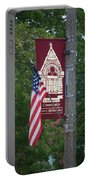 Main Street Flags Dwight Il Portable Battery Charger
