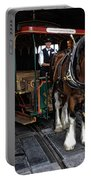 Main Street Horse And Trolley Portable Battery Charger