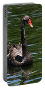 Majestic Black Swan Portable Battery Charger