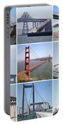 Majestic Bridges Of The San Francisco Bay Area Portable Battery Charger