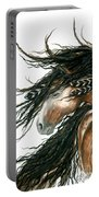 Majestic Pinto Horse 80 Portable Battery Charger