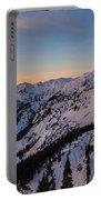 Majestic Mount Baker Sunrise Light Portable Battery Charger
