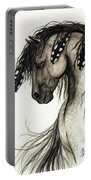 Majestic Mustang Horse Series #51 Portable Battery Charger by AmyLyn Bihrle