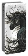 Majestic Spirit Horse  Portable Battery Charger by AmyLyn Bihrle