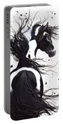 Majestic Pinto Horse Portable Battery Charger