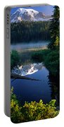 Majestic Reflection Portable Battery Charger by Inge Johnsson