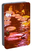 Malard Duck On Pond 3 Portable Battery Charger