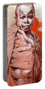 Malawi Child Sketch Portable Battery Charger
