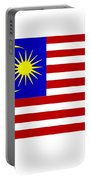 Malaysia Flag Portable Battery Charger
