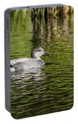 Male Gadwall Portable Battery Charger