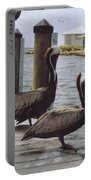 Male Pelicans Portable Battery Charger