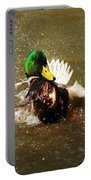 Mallard Bath Time Portable Battery Charger