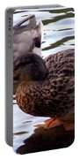 Mallard Drake And Hen Portable Battery Charger