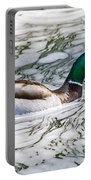 Mallard In Froth Portable Battery Charger