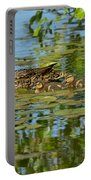 Mallard Mom And The Kids Portable Battery Charger