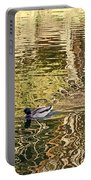Mallard Painting Portable Battery Charger