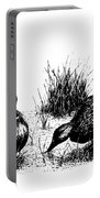 Mallards In The Marsh Portable Battery Charger