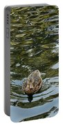 Mallards On Golden Pond 4 Portable Battery Charger