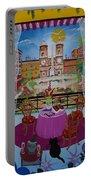 Mallorca, Spain, 2012 Acrylic On Canvas Portable Battery Charger