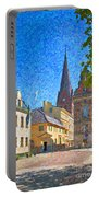 Malmo Stortorget Painting Portable Battery Charger
