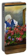 Mama's Window Garden Portable Battery Charger