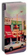 Mamma Mia's Italian Eatery Foods To Remember Niagara Falls Landmark Diner Ontario Paintings Cspandau Portable Battery Charger