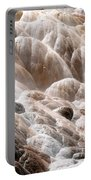 Mammoth Hot Springs Closeup Portable Battery Charger