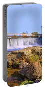 Mammoth Spring Dam And Hydroelectric Plant - Arkansas Portable Battery Charger