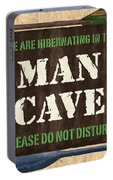 Man Cave Do Not Disturb Portable Battery Charger