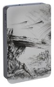 Man Of Sorrows Portable Battery Charger