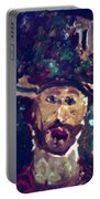 Man With A Hat Portable Battery Charger