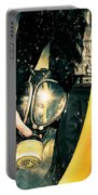 Man With Gas Mask. New Beginning. Skys The Limit Portable Battery Charger