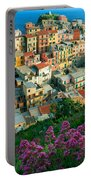 Manarola From Above Portable Battery Charger