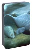 Manatee Madonna Portable Battery Charger
