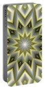 Mandala 107 Yellow Portable Battery Charger