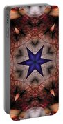 Mandala 14 Portable Battery Charger by Terry Reynoldson