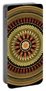 Mandala Of Friendship Portable Battery Charger