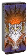 Mandala Owl Portable Battery Charger