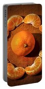 Mandarin - Vignette Portable Battery Charger by Kaye Menner
