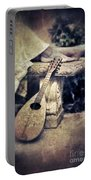 Mandolin By Lady's Feet Portable Battery Charger