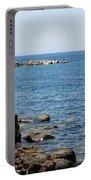 Mandraki Coastline Nisyros Portable Battery Charger