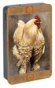 Mandy The Rooster Portable Battery Charger