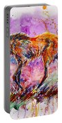 Maned Wolf Portable Battery Charger