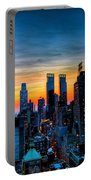 Manhattan At Sunset Portable Battery Charger
