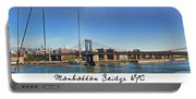 Manhattan Bridge Nyc Portable Battery Charger