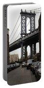 Manhattan Bridge View Portable Battery Charger