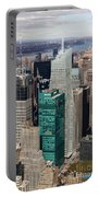Manhattan Bryant Park Aerial Portable Battery Charger by Jannis Werner